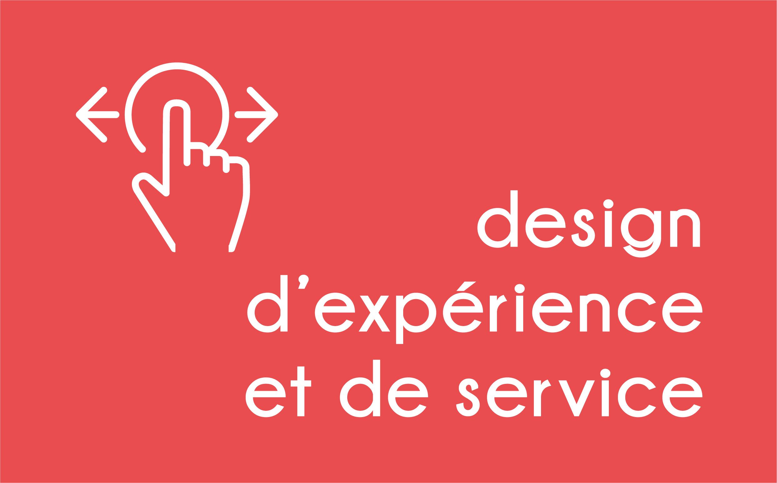 Design d'expérience et de service