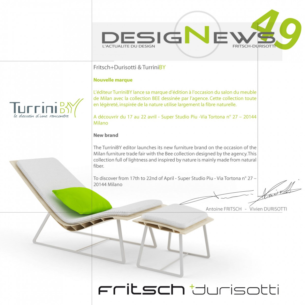Design News Fritsch Durisotti